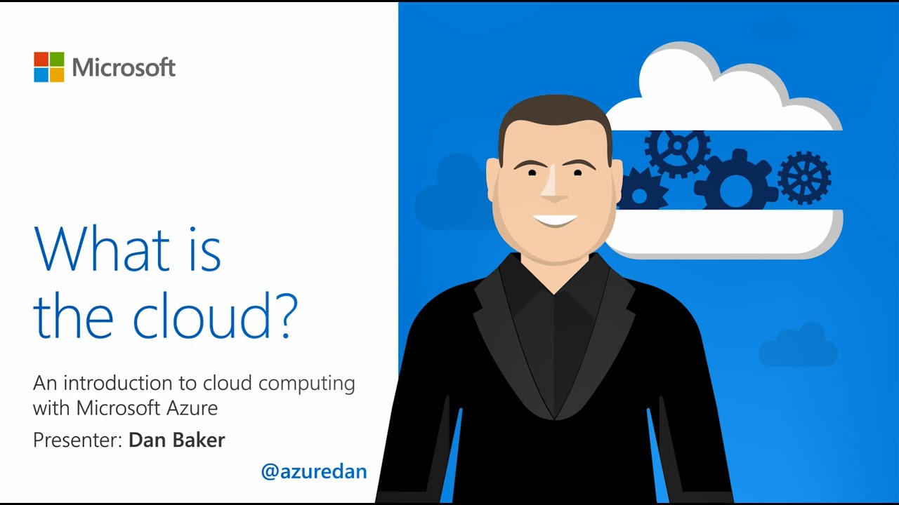What is the cloud? An introduction to cloud computing with microsoft azure